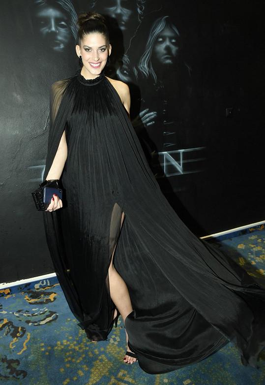 Aneta Vignerová na vyhlášení Miss Czech Republic