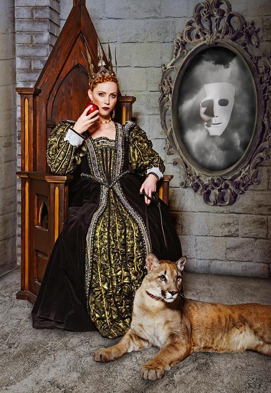 Markéta Plánková jako zlá královna ze Sněhurky