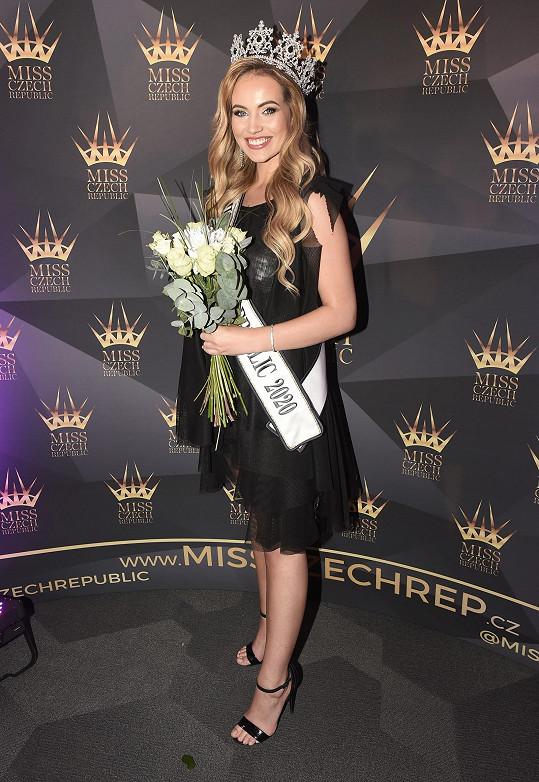Těhotná Natálie Kočendová neodcestuje na světovou soutěž krásy.