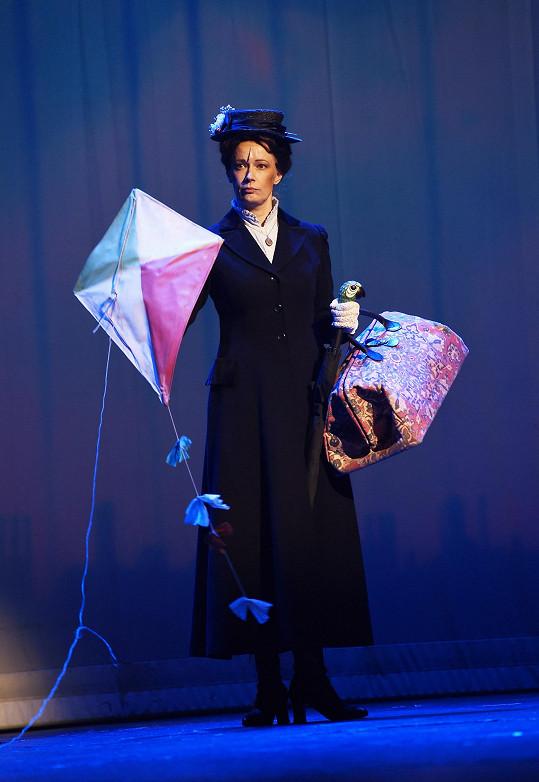 Alena jako Mary Poppins