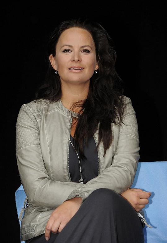 Čvančarová se těší na letní výlety s dcerou.