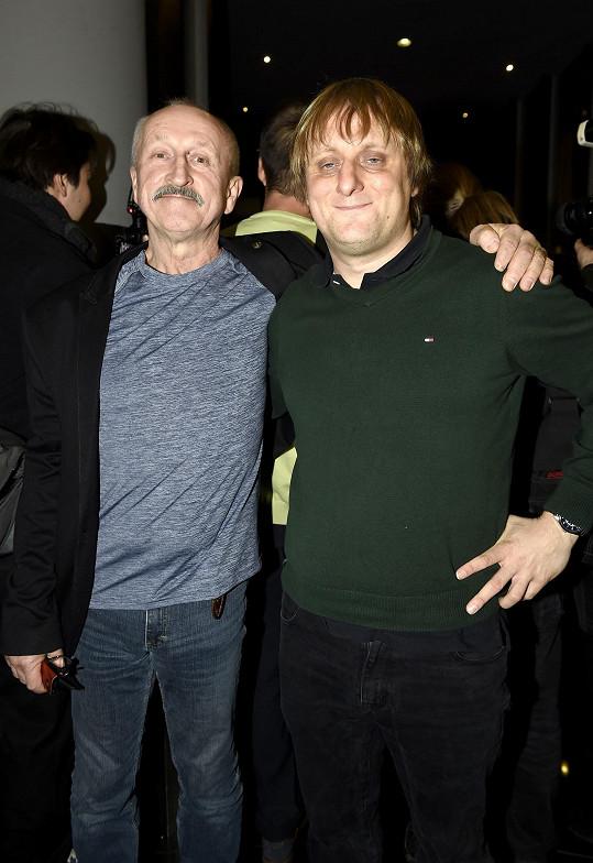 Ve filmu si zahrál i s Lukášem Pavláskem.