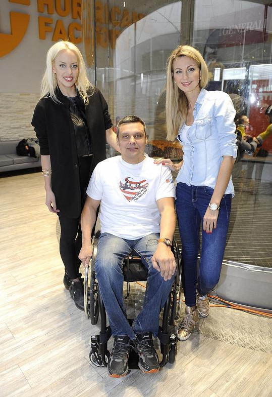 Sandra a Kate Mátl podpořily projekt neziskové organizace pro integraci postižených.