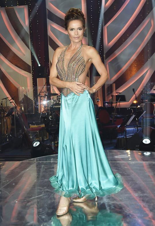 Olga Šípková asi nečekala, že bude slowfox její poslední tanec ve StarDance.