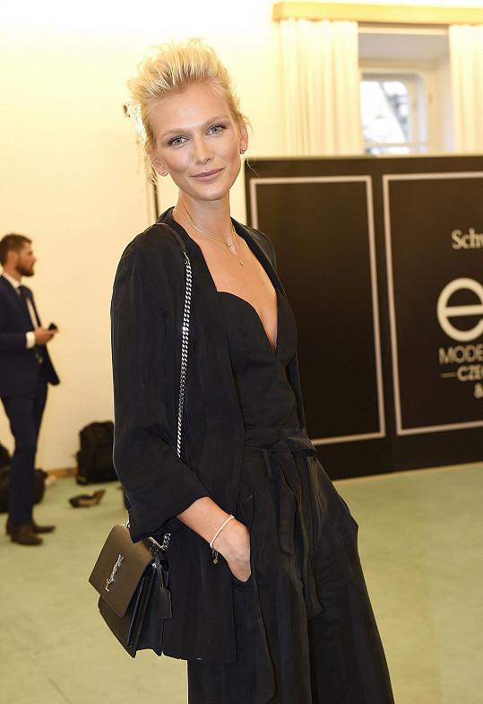 Zuzana se už podruhé stala ambasadorkou modelingové soutěže.