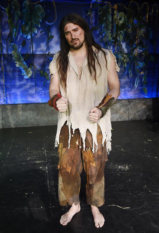 Radim v titulní roli Robinsona Crusoe