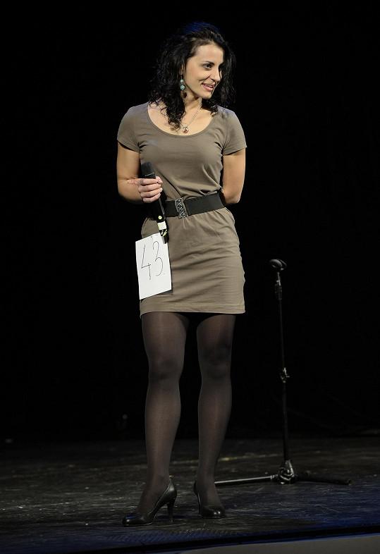 Markéta na konkurzu na muzikál 50 odstínů šedi v Divadle Broadway