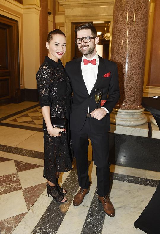 Sandra Nováková s partnerem Vojtou Moravcem