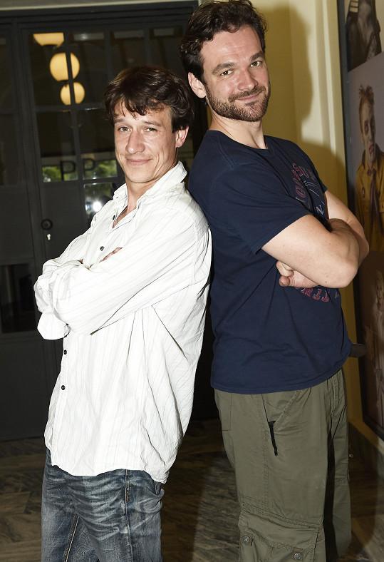 Martin Kraus se bude v roli alternovat s o trochu vyšším Tomášem Novotným.