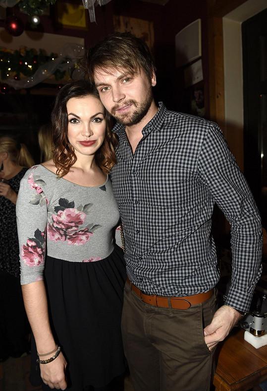 Kamila Nývltová s Pepou Vágnerem