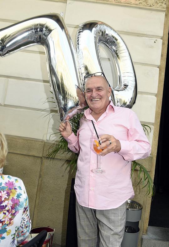 Tomáš Gottleib slavil sedmdesátiny.