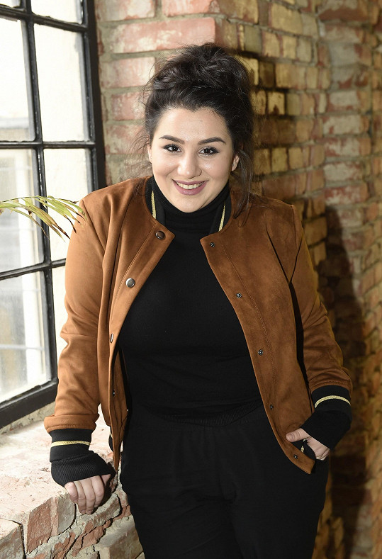 Andrea je jednou z finalistek na letošní Eurovizi.