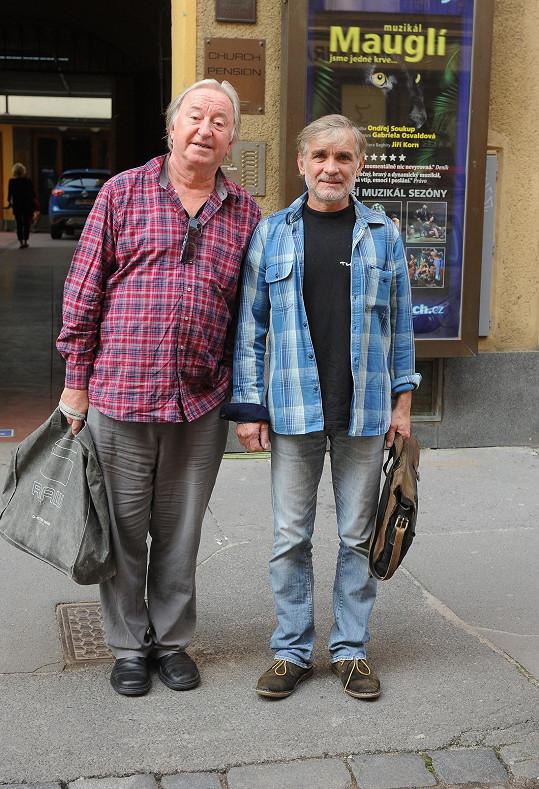 Jiří Lábus se těší i na další hry s Oldou v rámci léta pod věží.