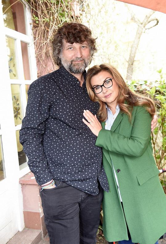 Dana Morávková a Petr Malásek oslavili stříbrnou svatbu.