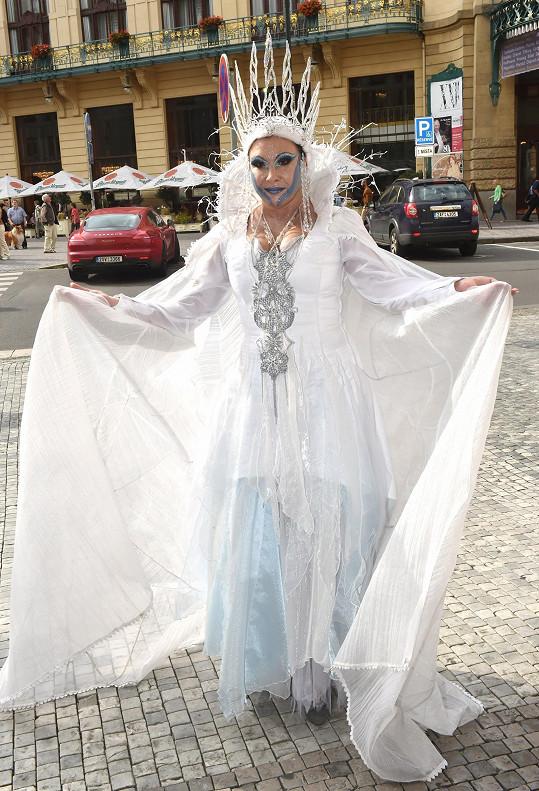 Dáda osudný den pospíchala na představení Sněhová královna.