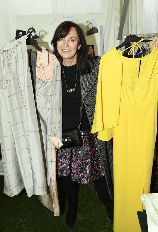 Beata Rajská věnovala několik svých modelů.