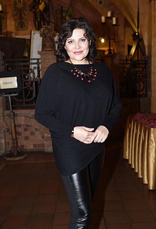 Ilona už se těší na roli chůvy v novém muzikálu Sibyla.