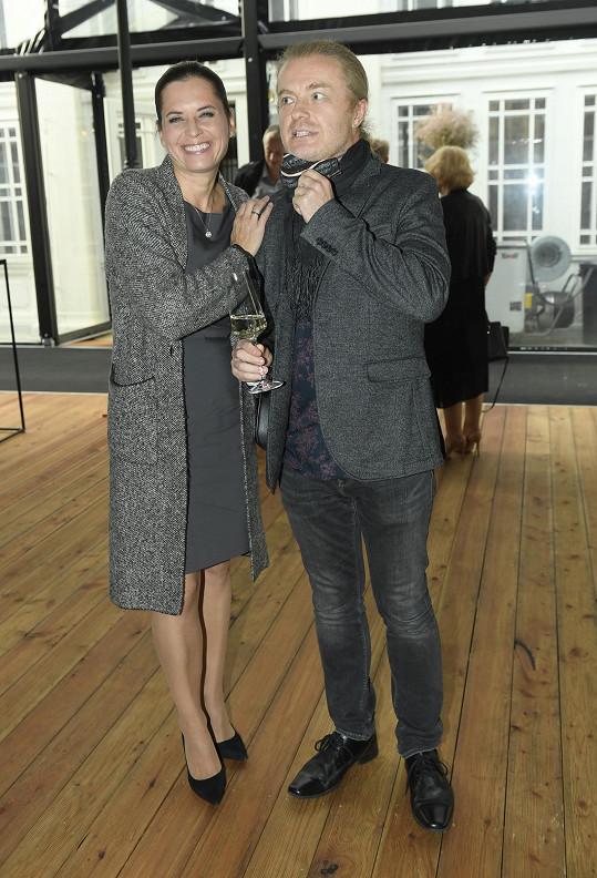 Bára s manželem Pavlem Šporclem