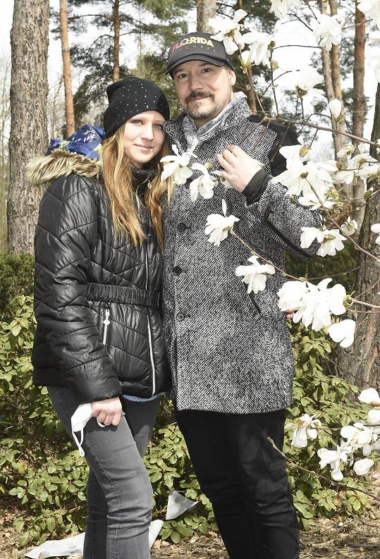 Bohuš Matuš bude mít s Luckou už v květnu svatbu.