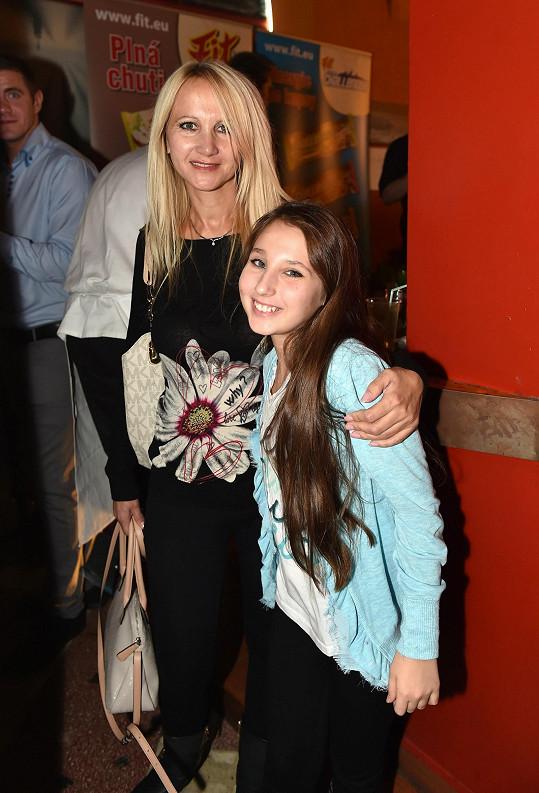 Šárka Grossová s dcerou