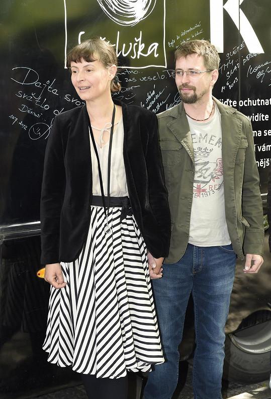 S manželem Janem Dolanským