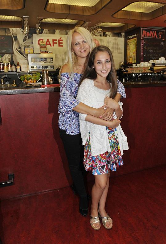 Natálie Grossová s maminkou Šárkou