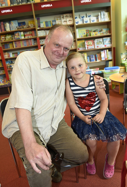 Igor Bareš s dcerou Toničkou