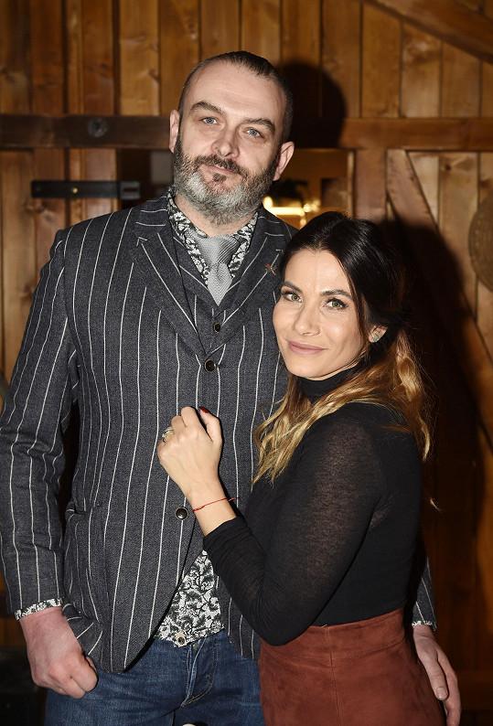 Eva s manželem Reném