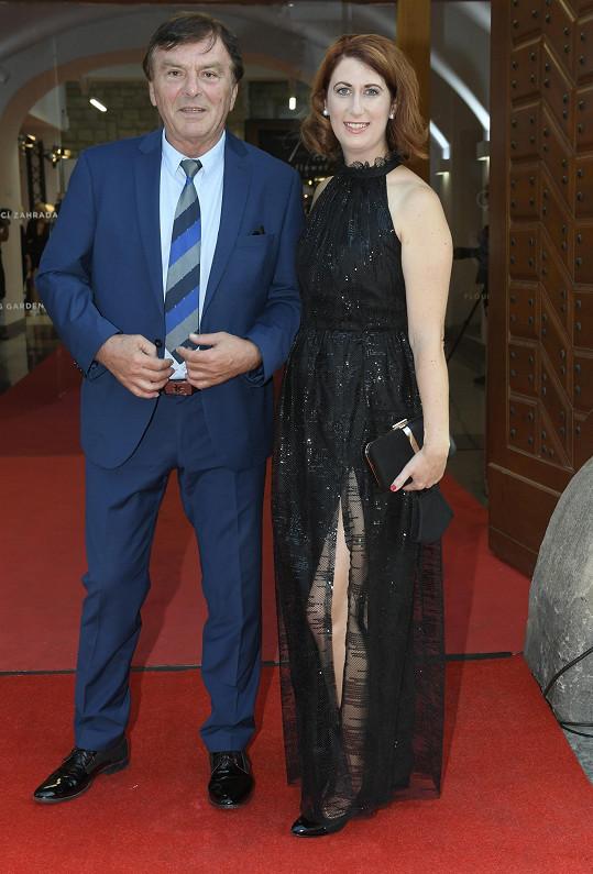 Pavel a Monika Trávníčkovi na zahájení Febiofestu.