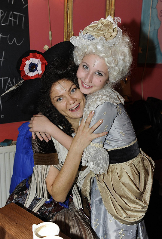 S Natálkou Grossovou v zákulisí Divadla Hybernia