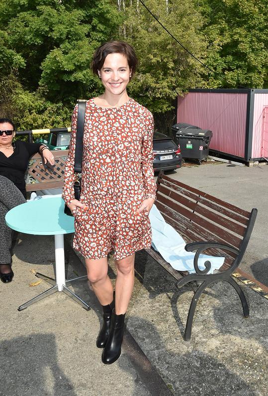 Kristýna Janáčková byla na své váze už po porodu, v šestinedělí ještě zhubla.