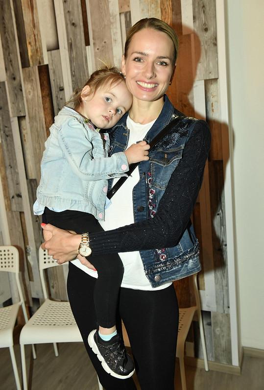 Markéta dorazila na charitativní akci s dcerou Sárou.