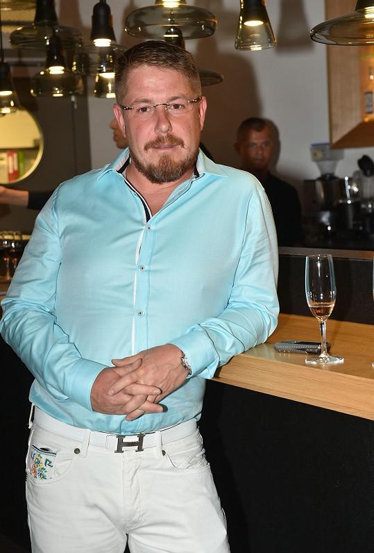 Exmanžel Kateřiny Vladimír Konvalinka na přehlídce