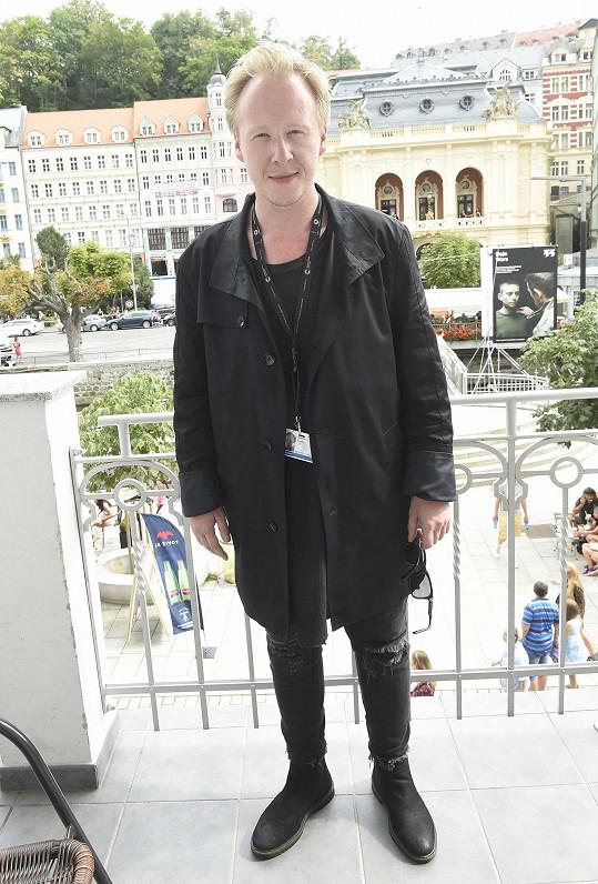 Štěpán Kozub na karlovarském filmovém festivalu