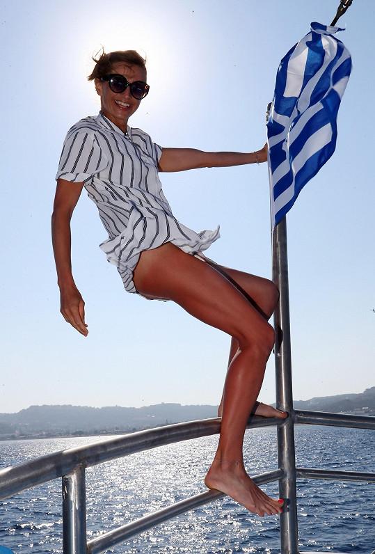 Ivana byla z krátké dovolené v Řecku nadšená.