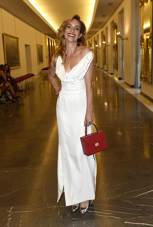Hana Vagnerová na letošním finále prestižní modelingové soutěže Schwarzkopf Elite Model Look.