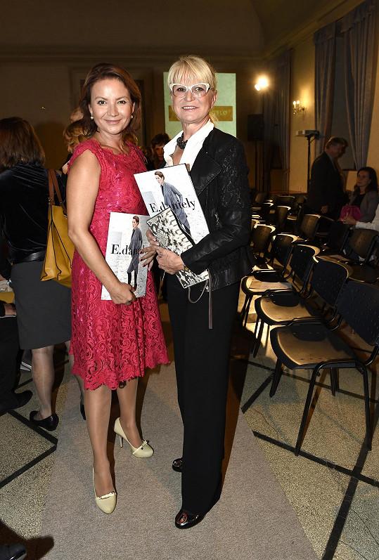 Prezentace nové kolekce se zúčastnily například Jolana Voldánová nebo Milada Karasová.