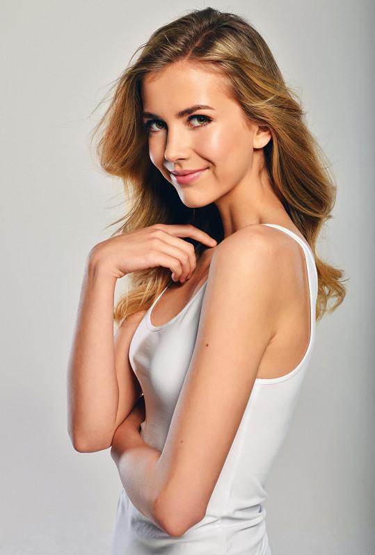 Finalistka České Miss 2018 Mariana Bečková