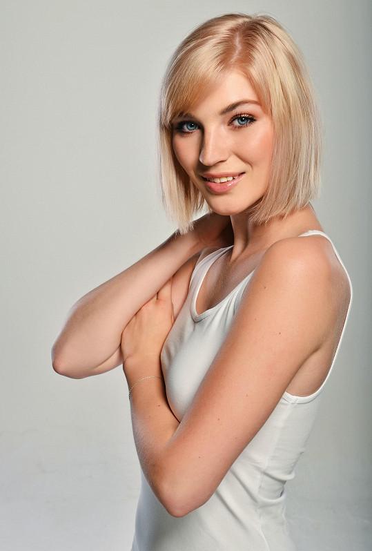 Finalistka České Miss 2018 Amálie Sloupenská