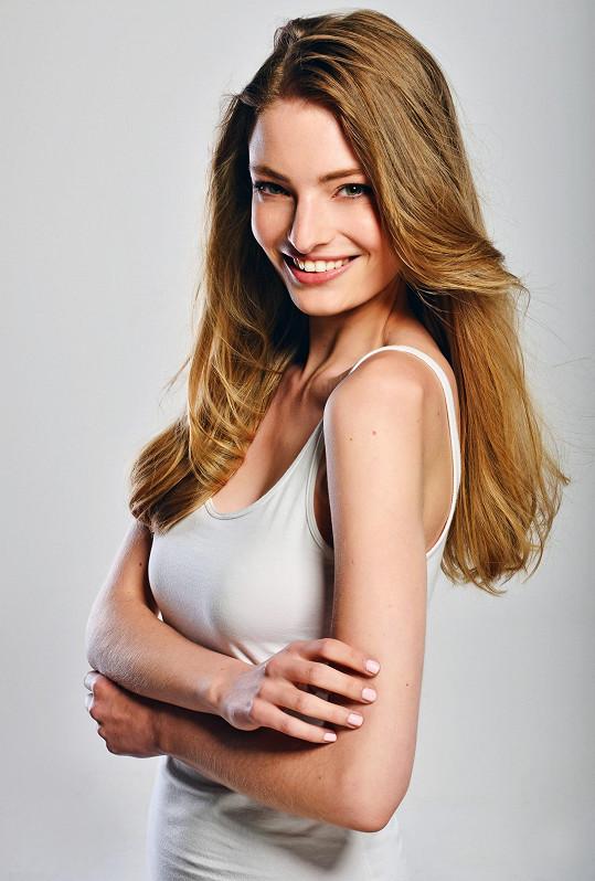 Finalistka České Miss 2018 Tereza Křivánková