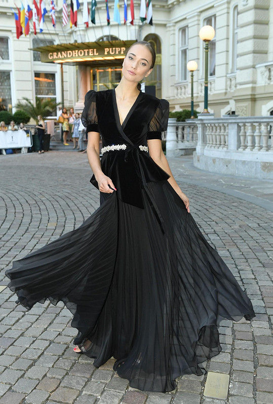 Lea Šteflíčková na módní show Poner.