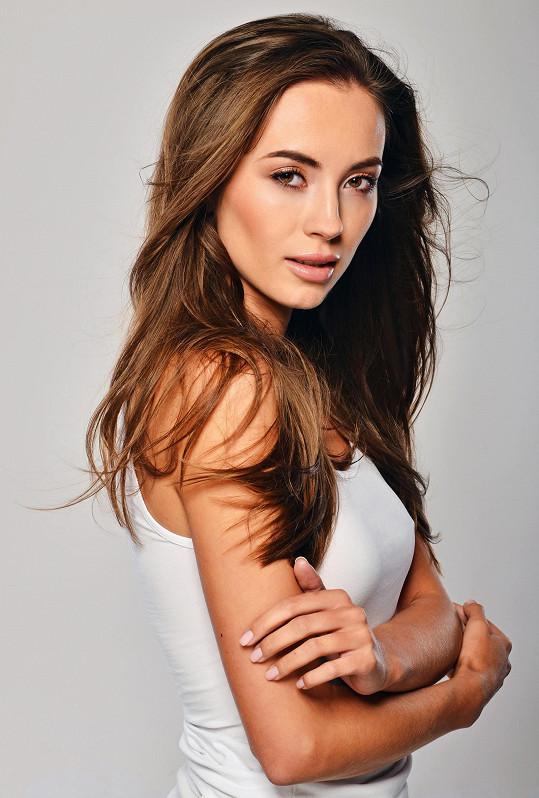 Finalistka České Miss 2018 Nikola Bechyňová.