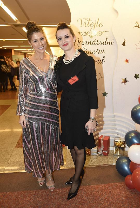 Victoria s prezidentkou festivalu DSA Nevilou Kuka