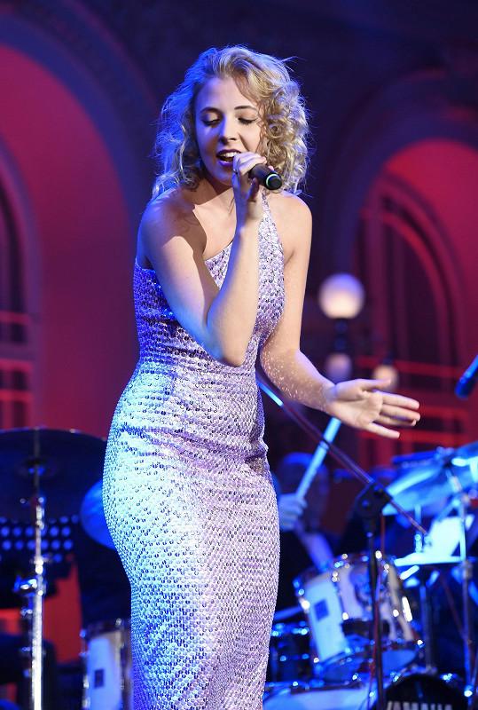 Anna Slováčková vystoupila se skladbou od Adele.