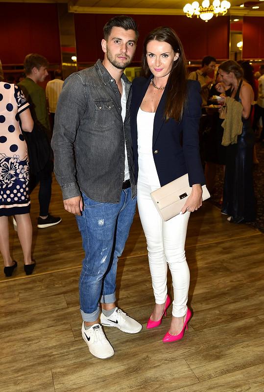 Iveta Benešová s přítelem Michalem