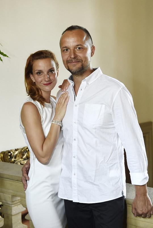Maurerová s bývalým kolegou Petrem Rajchertem