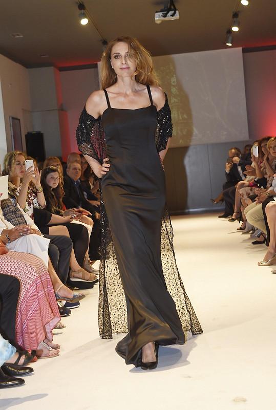 Markéta Jiránková byla jednou z nejvyšších a nejštíhlejších modelek.