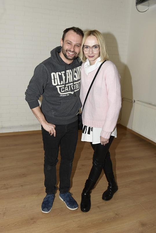 S tanečníkem Markem Dědíkem