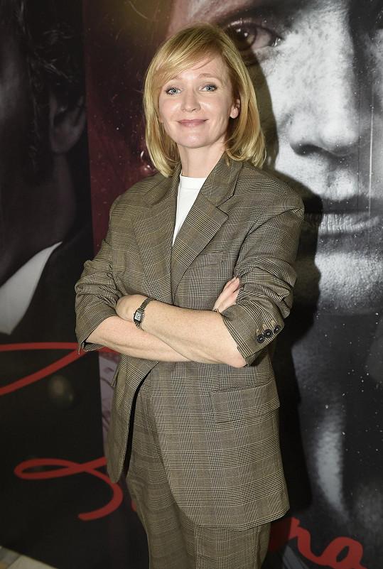 Aňa Geislerová natáčela dva díly série o Boženě Němcové tři měsíce.