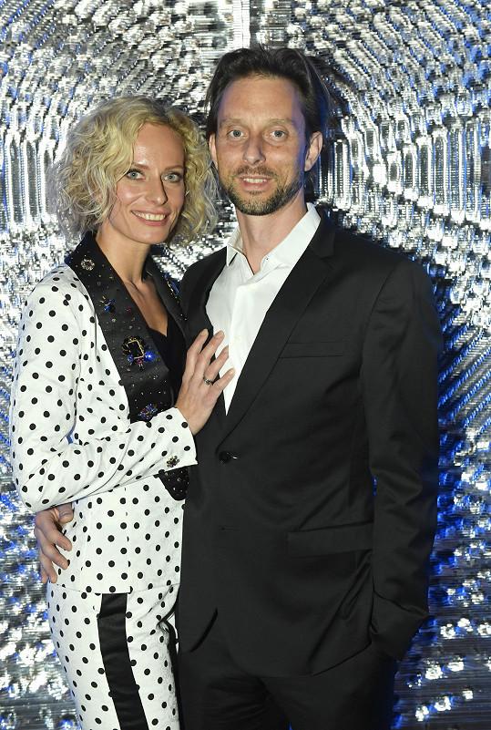 Na akci nesměl chybět její partner Václav Kuneš.